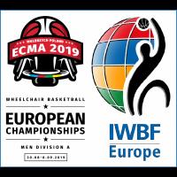 2019 European Championship for Men, Division A